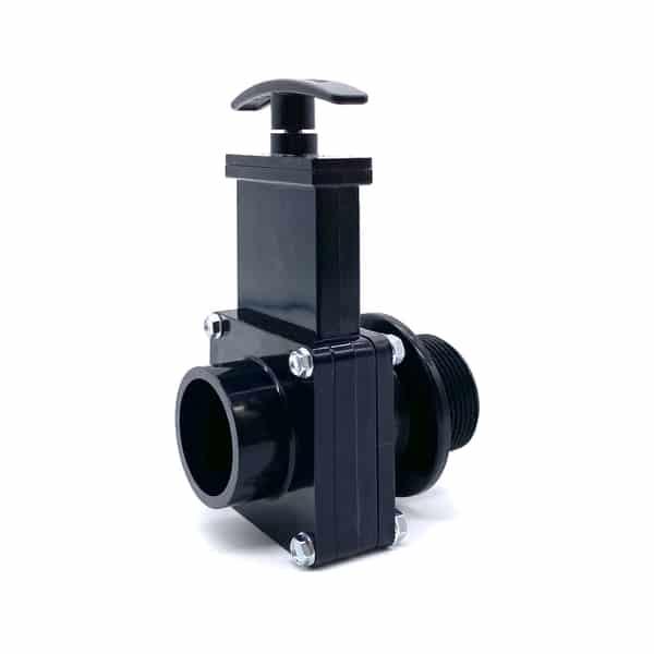 Drain valve for EMV carpet cleaning machine