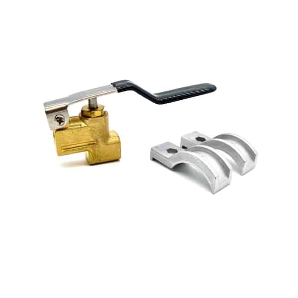 Triggger valve for carpet cleaning hand tool